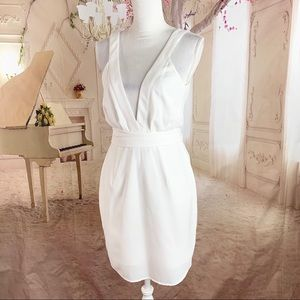 The Fifth Label White Wrap Dress